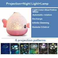 galaxy projector proyector estrellas  veilleuse enfant  led star night light  bedroom decor  baby light  gifts for child
