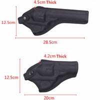 Tactical Revolver Holster Airsoft Gun Case Universal Oxford Revolver Duty Holster Hunting Pistol Case Carry For Revolver Sleeve