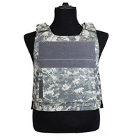 Mounchain Tactical Vest Amphibious Military Molle Waistcoat Combat Assault Plate Carrier Vest Hunting Protection Vest Camouflage