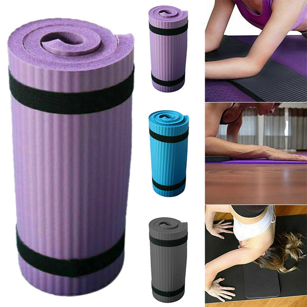 New Yoga Pilates Mat Thick Exercise Gym Non-Slip Workout 15mm Fitness Mats XD88