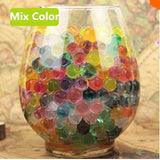 Abbyfrank 5000 Pcs Colorful Crystal Soft Bullet Water Gun Bullet Bibulous Toy Air Accessories Pistol For Sniper Toy Gun