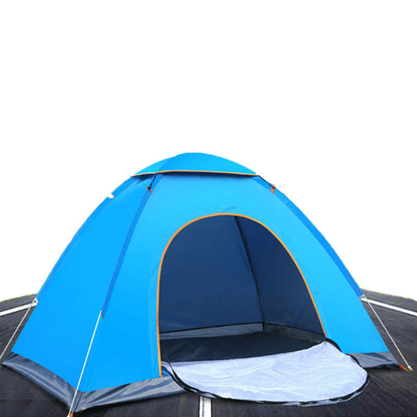 Durable Pyramid Tent With Mosquito Net 2 Persons Oxford Cloth Outdoors Camping Tent Upgraded Cloud Up 2 Ultralight Tent