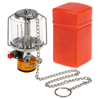 Mini Gas Lamp Outdoor Camping Lantern Tent Lamp Torch Hanging Glass Lamp Mini Camping  Portable Gas Light Camping Equipment