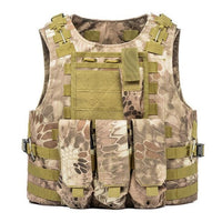USMC Tactical Vest for Airsoft Military  Molle Combat Assault Plate Carrier Tactical Vest CS Outdoor Clothing Hunting Vest