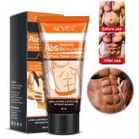 Men's Abdominal Muscle Cream Anti Cellulite Slimming Fat Burning Cream Body Firming Strengthening Belly Muscle Tightening
