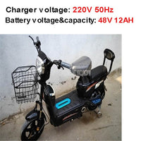 Parent Child Electric Bicycle 48V 12AH/20AH with Pet Basket Baby Child Bicycle Seat Powerful City/Road Electric Bike e bike