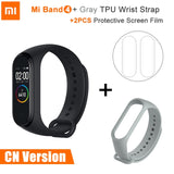 Original Xiaomi Mi Band 4 Fitness Tracker AMOLED Screen Smart Bracelet 5ATM Waterproof Heart Rate Monitor Band 4 Redmi Band