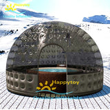 3m 4m 5m outdoor luxury inflatable camping bubble inflatable clear dome tent for kid