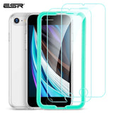 ESR Tempered Glass for 2020 iPhone SE 2nd 9/8/7/6/6S Full Coverage Anti-Explosion Anti Blue-Ray Anti-Glare Screen Protector Film