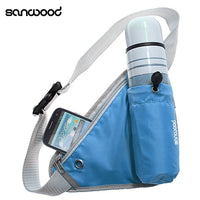 Hot New Triangular Waist Bag Durable Belt Water Bottle Pocket Pouch