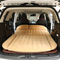 SUV Trunk Inflatable Car Mattress Flocking Portable Padded Inflatable Cushion Sexy Car Travel Bed Child lover car mattress