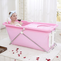 Hot Sell Folding Portable Insulated Bathtub for Adults Inflatable Bath Straight Leg Bathtub Food Grade Non-toxic Soft Material
