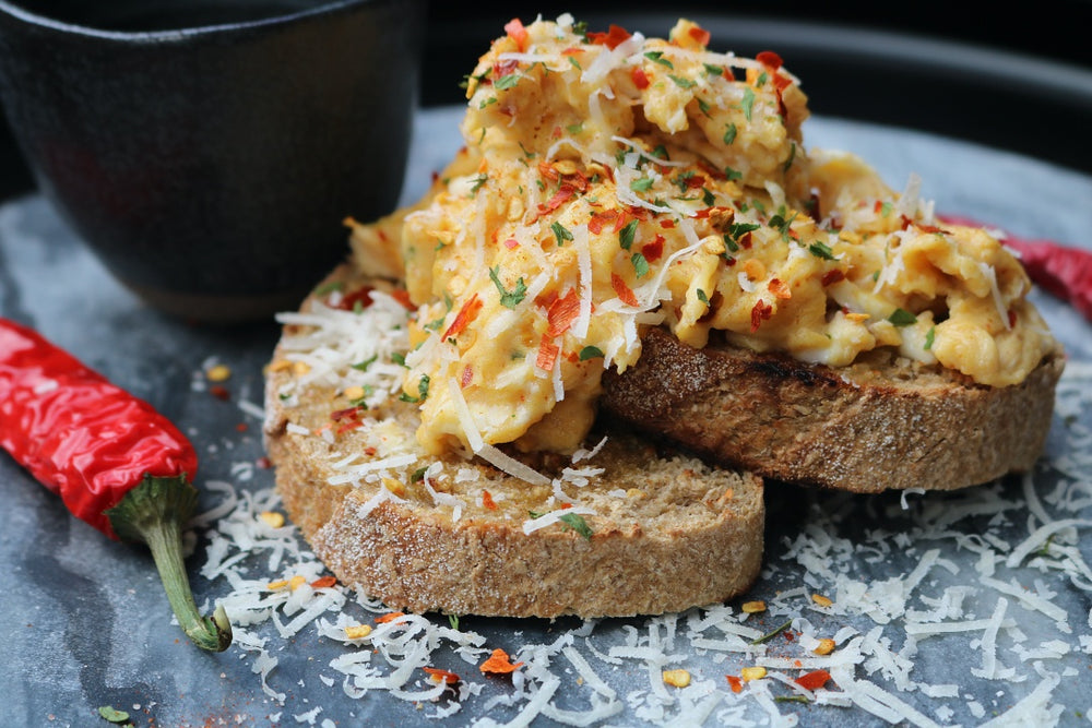 Classic Chilli Scrambled Eggs