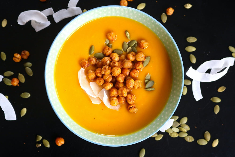Easy Pumpkin & Coconut Soup