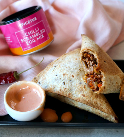 Chilli Beef Cheese Pockets