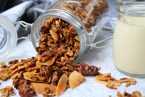 Maple Toasted Muesli by Sarah Grace