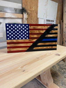 America/thin blue line.  Large
