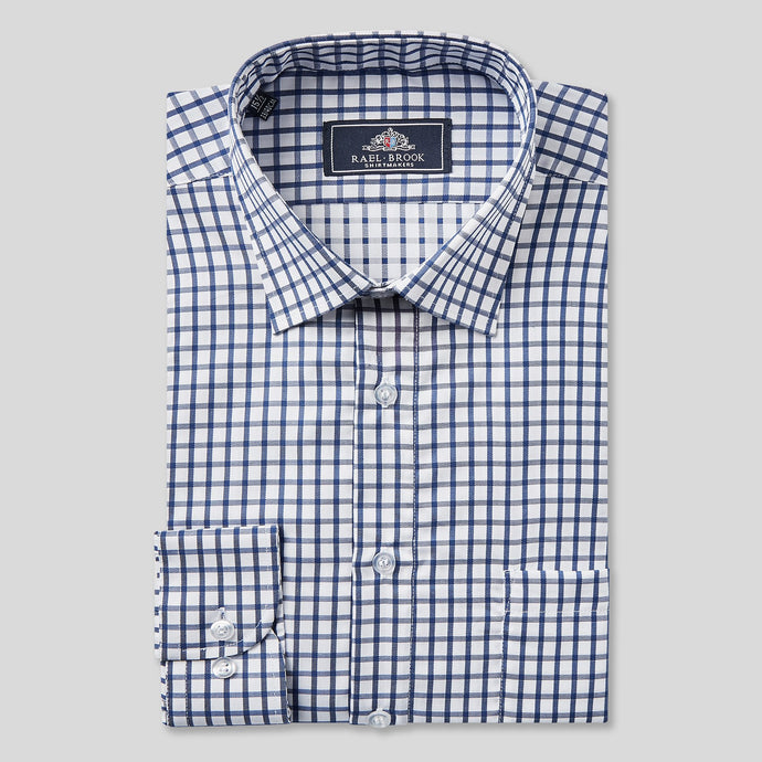 4821-Rael-Brook-Classic-Fit-Navy-Checkerboard-Single-Cuff-Shirt-1