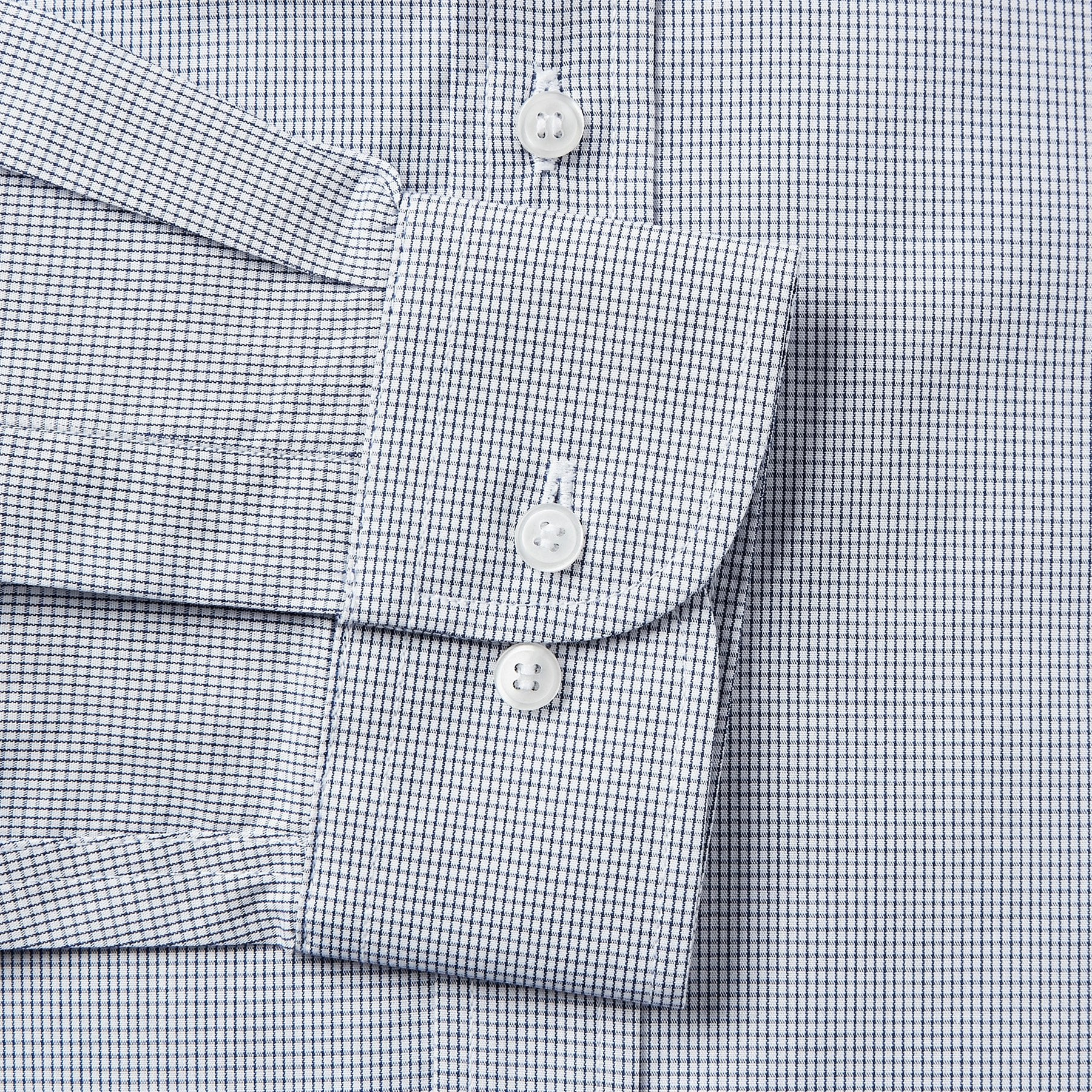 4832-Rael-Brook-Tailored-Fit-Navy-Fine-Check-Single-Cuff-Shirt-3