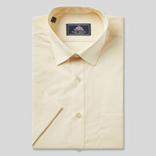 Load image into Gallery viewer, Rael Brook Classic Fit Lemon Short Sleeve Shirt