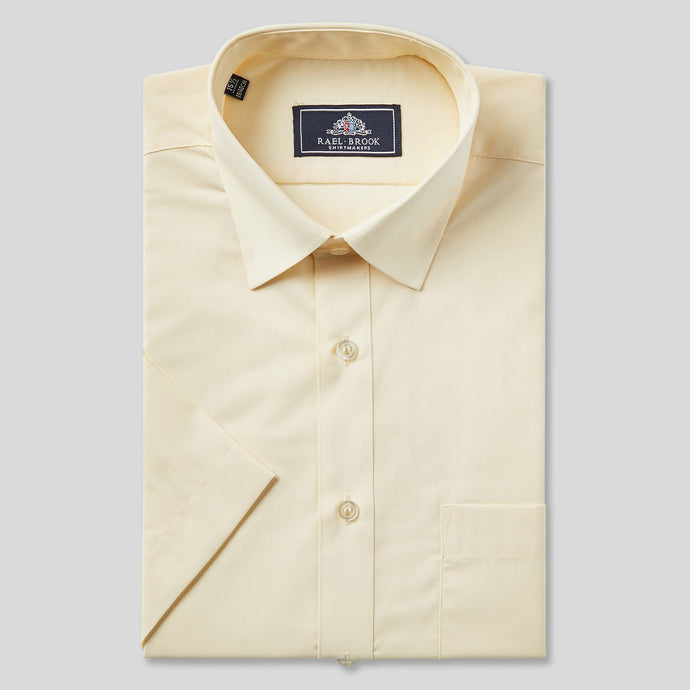 Rael Brook Classic Fit Lemon Short Sleeve Shirt