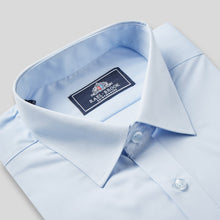 Load image into Gallery viewer, Rael Brook Classic Fit Light Blue Short Sleeve Shirt Collar