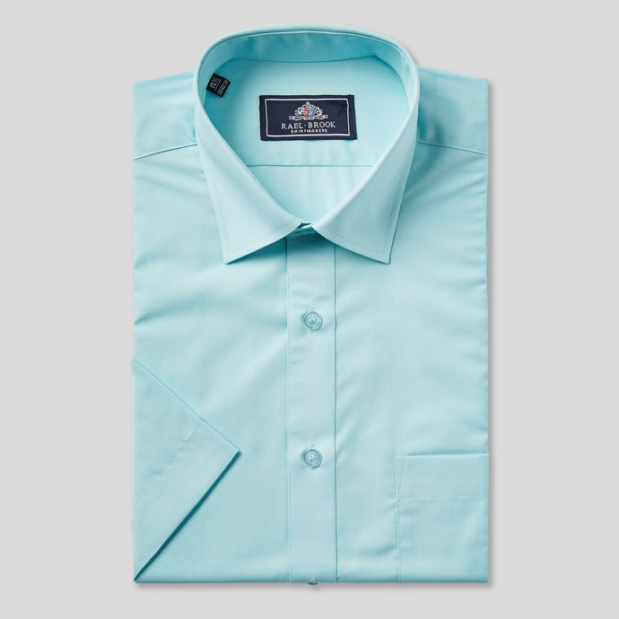 78085-Rael-Brook-Classic-Fit-Cyan-Short-Sleeve-Shirt-1