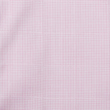 Load image into Gallery viewer, Rael Brook  Classic Fit Short Sleeve Pink Neat Check Shirt