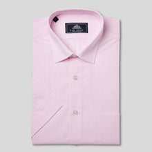 Load image into Gallery viewer, Rael Brook Classic Fit Short Sleeve Pink Pinstripe Shirt