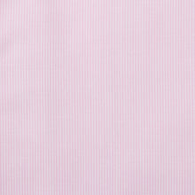 Load image into Gallery viewer, Rael Brook Classic Fit Short Sleeve Pink Pinstripe Shirt Fabric