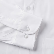 Load image into Gallery viewer, Rael Brook Classic Fit White Single Cuff Shirt Cuff