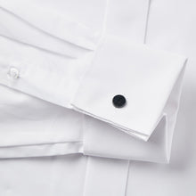 Load image into Gallery viewer, Rael Brook Classic Fit White Swept Wing Double Cuff Dress Shirt Cuff