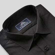 Load image into Gallery viewer, Rael Brook Classic Fit Black Single Cuff Shirt Collar