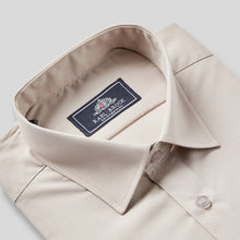 Load image into Gallery viewer, 8045-Rael-Brook-Classic-Fit-Beige-Single-Cuff-Shirt-2