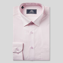Load image into Gallery viewer, Rael Brook Classic Fit Pink Single Cuff Shirt