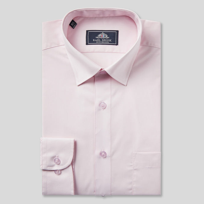 Rael Brook Classic Fit Pink Single Cuff Shirt