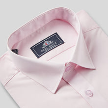 Load image into Gallery viewer, Rael Brook Classic Fit Pink Single Cuff Shirt Collar