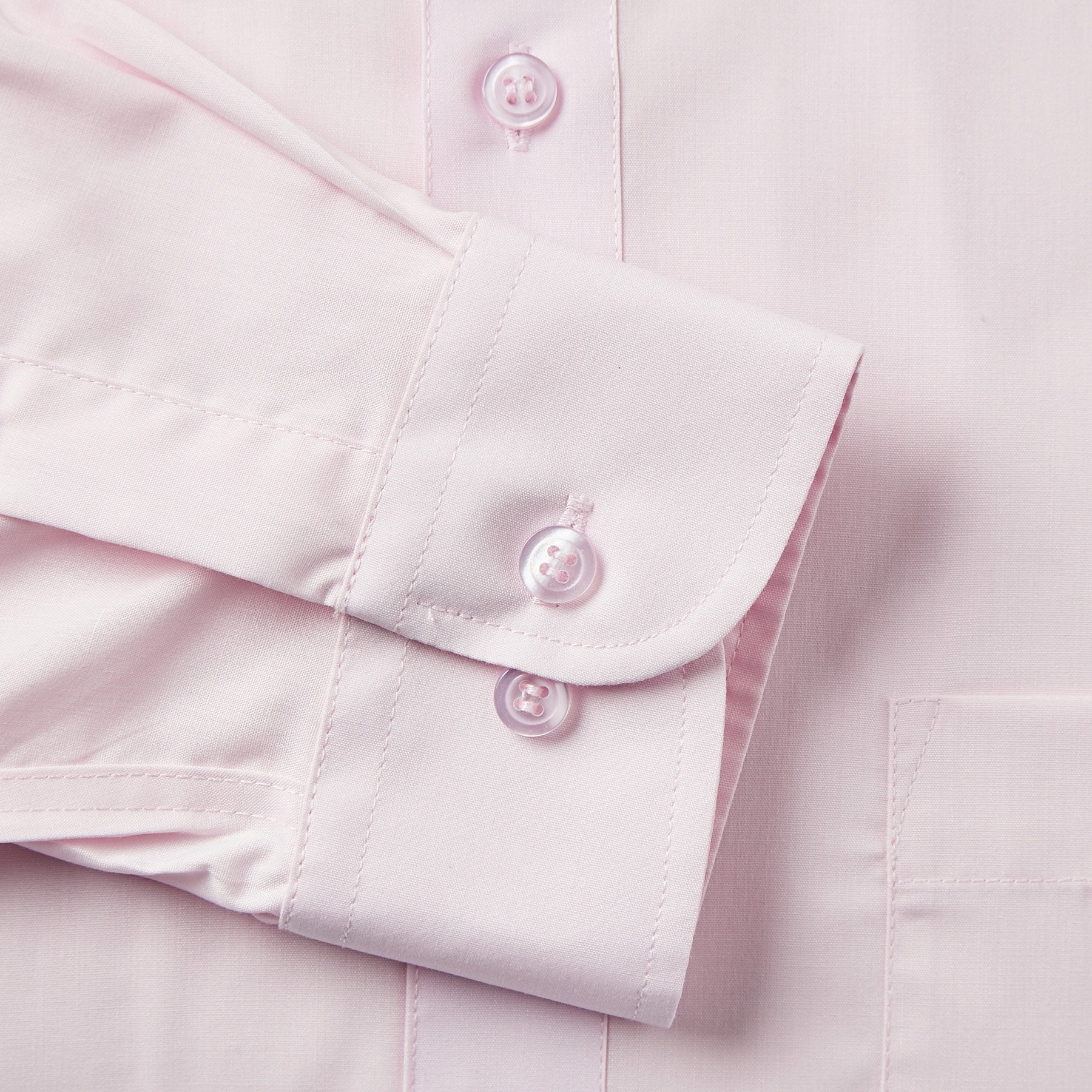 Rael Brook Classic Fit Pink Single Cuff Shirt Cuff