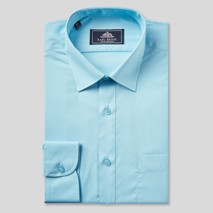 8055-Rael-Brook-Classic-Fit-Turquoise-Single-Cuff-Shirt-1