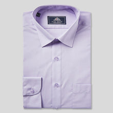 Load image into Gallery viewer, Rael Brook Classic Fit Lilac Single Cuff Shirt