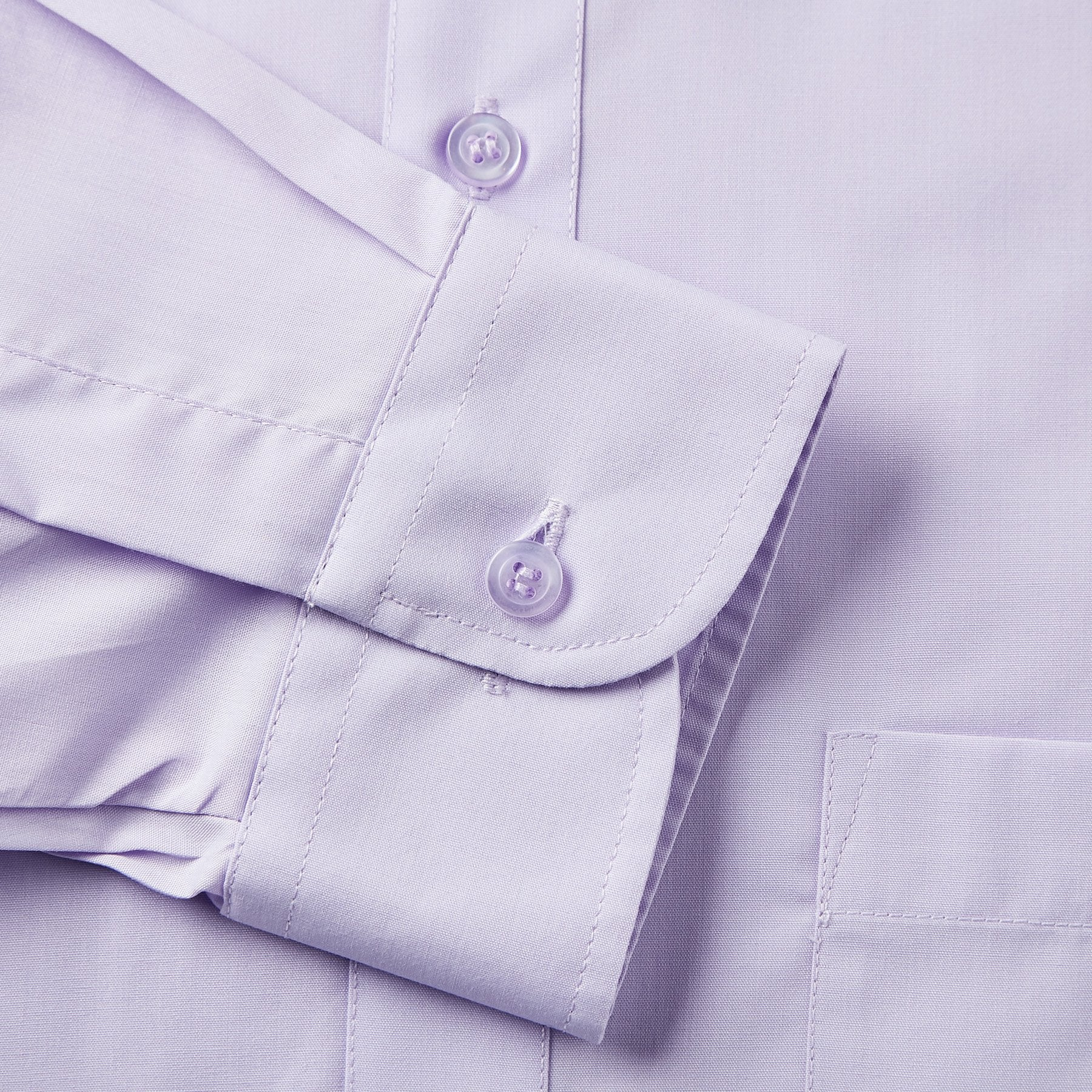 Rael Brook Classic Fit Lilac Single Cuff Shirt Cuff