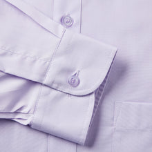 Load image into Gallery viewer, Rael Brook Classic Fit Lilac Single Cuff Shirt Cuff