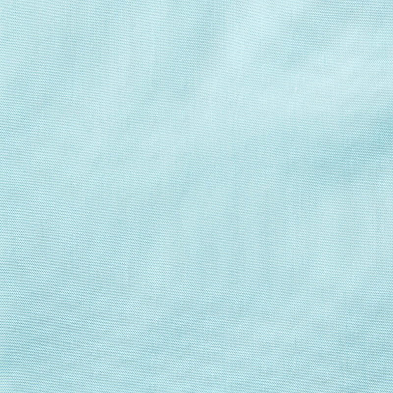 Rael Brook Classic Fit Cyan Single Cuff Shirt Fabric