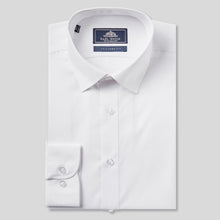 Load image into Gallery viewer, Rael Brook Tailored Fit White Single Cuff Shirt