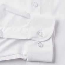 Load image into Gallery viewer, Rael Brook Tailored Fit White Single Cuff Shirt Cuff