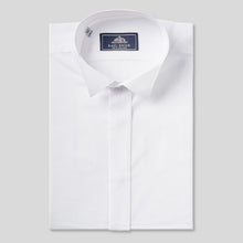 Load image into Gallery viewer, Rael Brook Tailored Fit White Wing Collar Dress Shirt