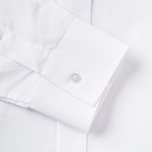 Load image into Gallery viewer, Rael Brook Tailored Fit White Wing Collar Dress Shirt Cuff