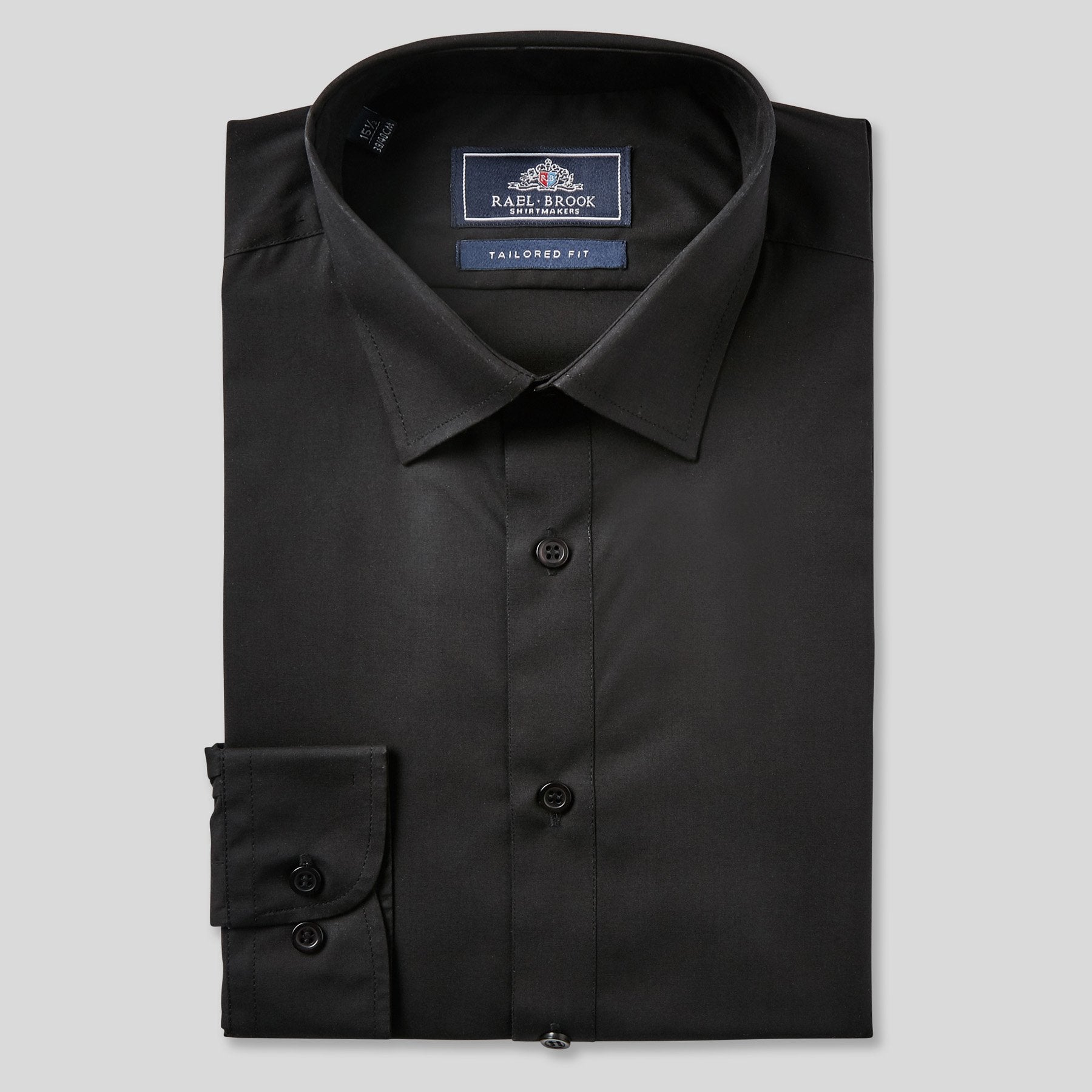8432-Rael-Brook-Tailored-Fit-Black-Single-Cuff-Shirt-1
