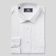 Load image into Gallery viewer, 8501P-Rael-Brook-Classic-Fit-White-Double-Pocket-Pilot-Shirt-1