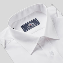 Load image into Gallery viewer, 8501P-Rael-Brook-Classic-Fit-White-Double-Pocket-Pilot-Shirt-2